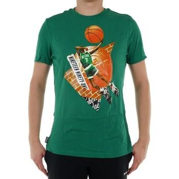 textil Herr T-shirts Reebok Sport Classic Basketball Pump 1 Tshirt Gröna
