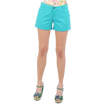 textil Dam Shorts / Bermudas Vero Moda RIDER 634 DENIM SHORTS - MIX Turkos