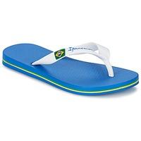 Skor Pojk Flip-flops Ipanema CLASSICA BRASIL II KIDS Blå / Vit