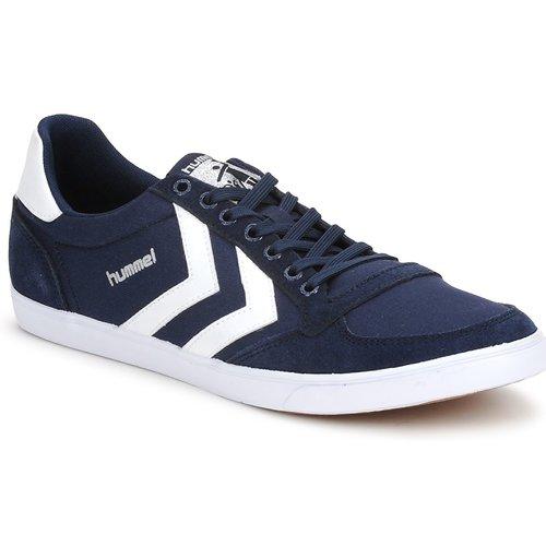 Skor Sneakers Hummel TEN STAR LOW CANVAS Marin