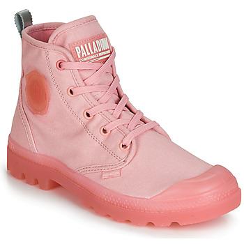 Skor Dam Boots Palladium PAMPALICIOUS Rosa