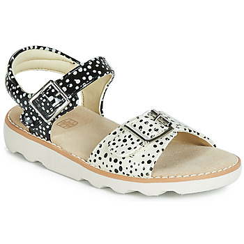 Skor Flickor Sandaler Clarks Crown Bloom K Svart