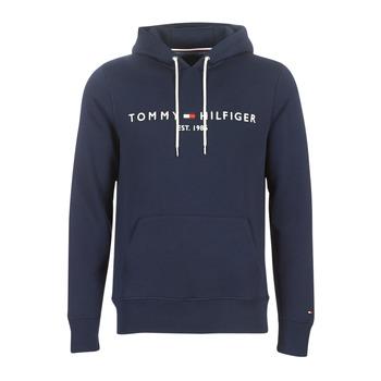 textil Herr Sweatshirts Tommy Hilfiger TOMMY LOGO HOODY Marin