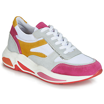 Skor Dam Sneakers André ROLLO Vit / Rosa