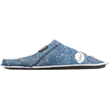 Skor Dam Tofflor Crocs GRAPHIC SLIPPER 204565-410 blue