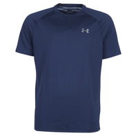 textil Herr T-shirts Under Armour TECH 2.0 SS TEE Marin