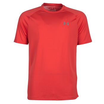 textil Herr T-shirts Under Armour TECH 2.0 SS TEE Röd