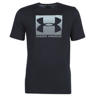 textil Herr T-shirts Under Armour BOXED SPORTSTYLE Svart