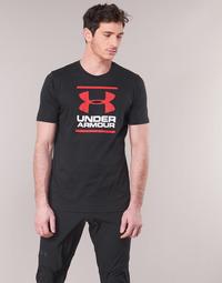 textil Herr T-shirts Under Armour GL FOUNDATION SS Svart