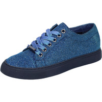 Skor Dam Sneakers Sara Lopez sneakers blu tessuto BT995 Blu