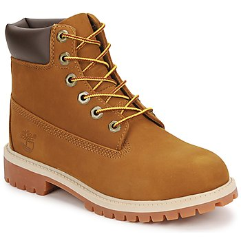 Skor Barn Boots Timberland 6 IN PREMIUM WP BOOT Brun / Honung