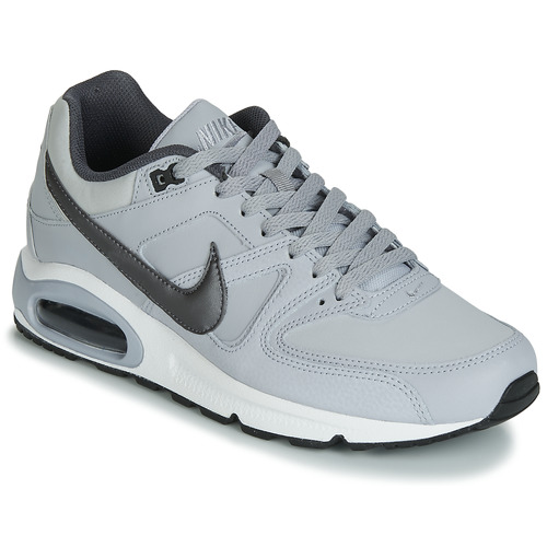 15e5c6f9 Nike AIR MAX COMMAND LEATHER Grå - Fri frakt | Spartoo.se ! - Skor ...