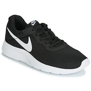 Skor Herr Sneakers Nike TANJUN Svart / Vit