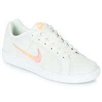 Skor Dam Sneakers Nike COURT ROYALE PREMIUM W Vit / Orange