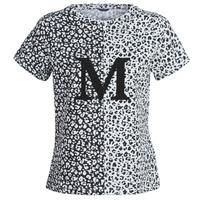 textil Dam T-shirts Marciano RUNNING WILD Svart / Vit