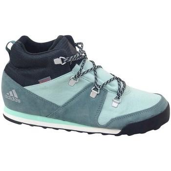 Skor Barn Höga sneakers adidas Originals CW Snowpitch K Gröna