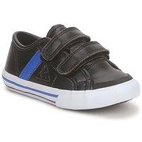 Skor Pojkar Sneakers Le Coq Sportif SAINT MALO Svart / Blå