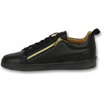 Skor Herr Sneakers Cash Money Skor För Sneaker Bee Black Gold Svart