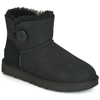 Skor Dam Boots UGG MINI BAILEY BUTTON II Svart