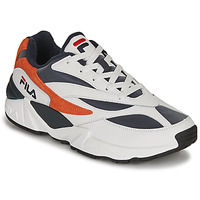Skor Herr Sneakers Fila V94M R LOW Vit / Orange
