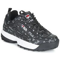 Skor Dam Sneakers Fila DISRUPTOR LOGO LOW WMN Svart