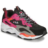 Skor Dam Sneakers Fila RAY TRACER WMN Svart / Rosa