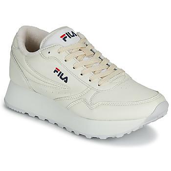 Skor Dam Sneakers Fila ORBIT ZEPPA L WMN Beige