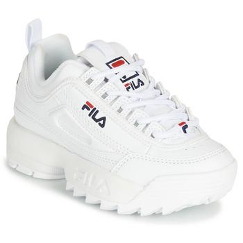 Skor Barn Sneakers Fila DISRUPTOR KIDS Vit