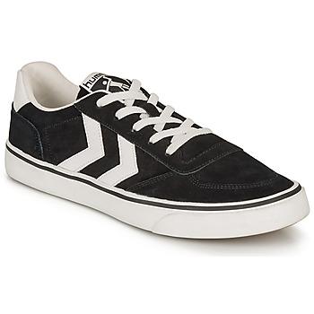 Skor Sneakers Hummel STADIL 3.0 SUEDE Svart / Vit