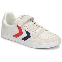 Skor Barn Sneakers Hummel SLIMMER STADIL LEATHER LOW JR Vit