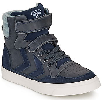 Skor Barn Höga sneakers Hummel STADIL WINTER HIGH JR Blå