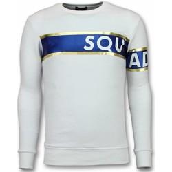 textil Herr Sweatshirts Tony Backer Stripe Color Sqouad UYW Vit