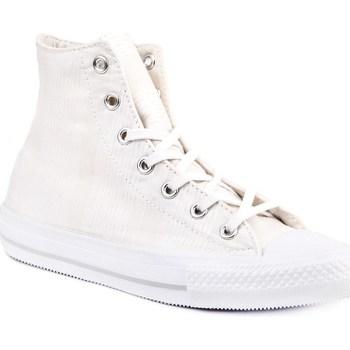 Skor Dam Höga sneakers Converse Chuck Taylor All Star Gemma Vit