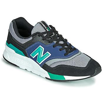 Skor Herr Sneakers New Balance 997 Svart / Blå