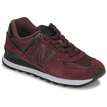 Skor Dam Sneakers New Balance 574 Bordeaux