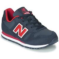 Skor Barn Sneakers New Balance 373 Blå / Röd