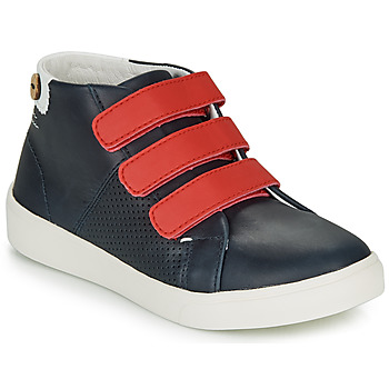 Skor Flickor Sneakers Faguo ASPENLOW LEATHER Blå
