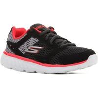 Skor Barn Löparskor Skechers Go Run 400 97681L-BGRD black, red, grey