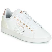 Skor Dam Sneakers Le Coq Sportif COURTSTAR W BOUTIQUE Vit / Rosa