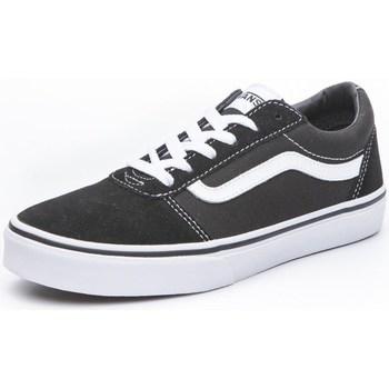 Skor Barn Sneakers Vans Ward Vit,Svarta