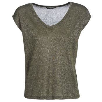 textil Dam T-shirts Only ONLSILVERY Kaki