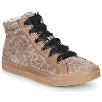 Skor Flickor Höga sneakers Catimini CALENDULE Leopard
