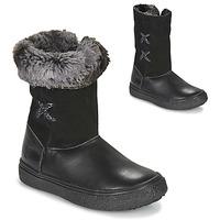 Skor Flickor Boots GBB OLINETTE Svart