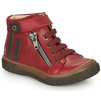 Skor Pojkar Höga sneakers GBB OMAHO Röd
