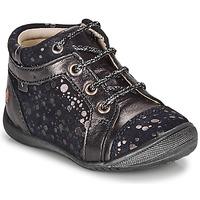 Skor Flickor Boots GBB OMANE Marin / Silverfärgad