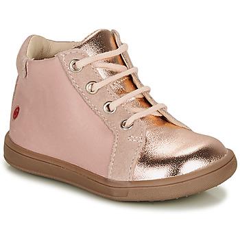 Skor Flickor Höga sneakers GBB FAMIA Rosa