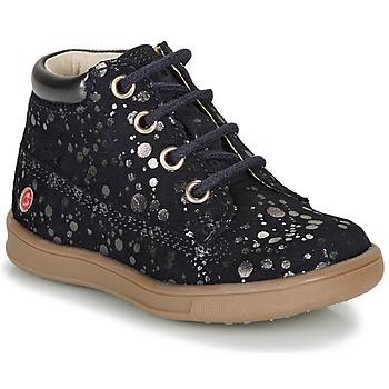Skor Flickor Boots GBB NINON Marin / Silver