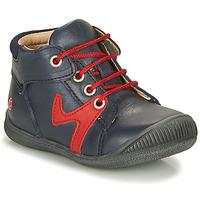 Skor Pojkar Boots GBB OVELO Marin / Röd