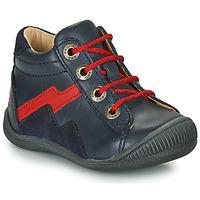 Skor Pojkar Boots GBB ORAM Marin / Röd