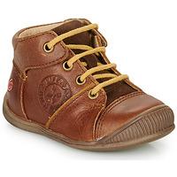 Skor Pojkar Boots GBB OULOU Brun / Cognac